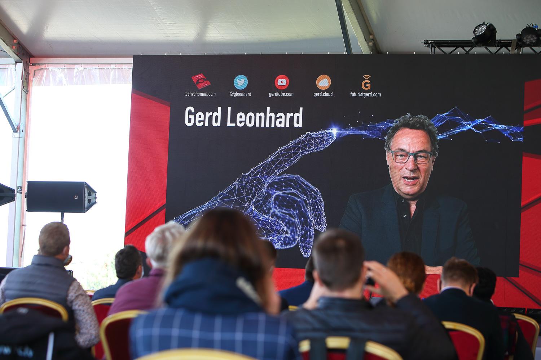 """Gerd Leonhard, TOP15 pasaulio futuristas, organizacijų ekspertas; Žurnalo WIRED """"TOP100 Įtakingiausiųjų Europoje"""""""